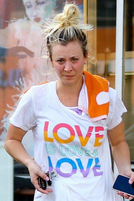 Takhle herečka vypadá po ranním běhu.