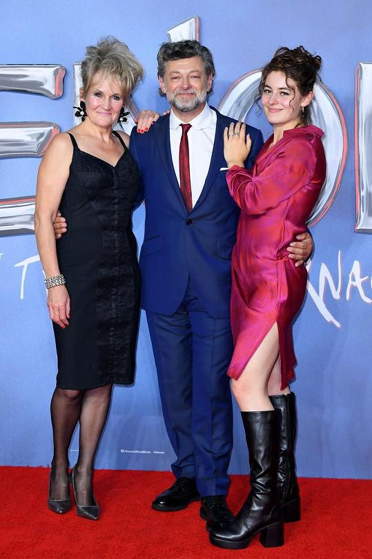 S manželkou Lorraine a dcerou Ruby