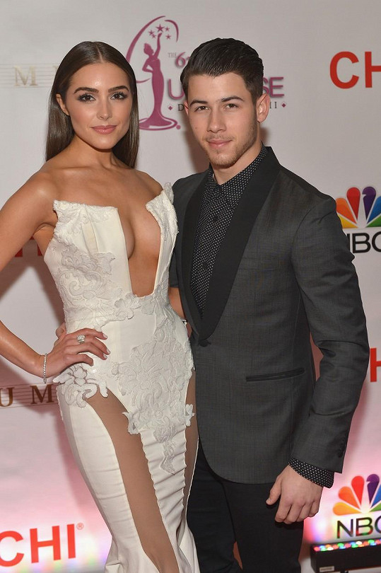 Nick Jonas a Olivia Culpo
