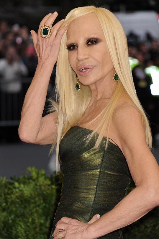 Donatella Versace v současnosti