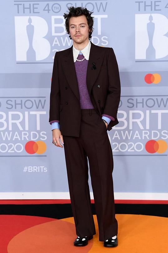 Harry v poslední době budí pozornost svým androgynním stylem.
