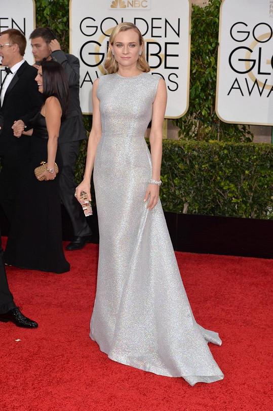 Diane Kruger v modelu od Emilie Wickstead