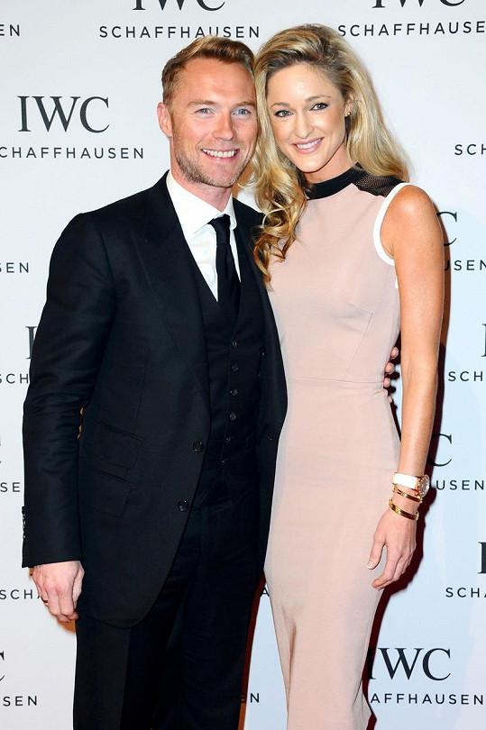 Ronan Keating se oženil se Strom Uechtritz.