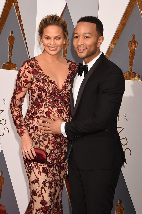 Chrissy a John na letošním udílení Oscarů