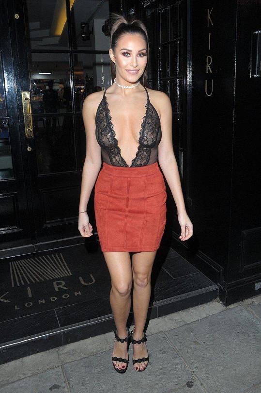 Chloe Goodman je hvězdičkou britských reality show.