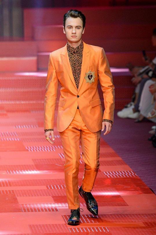 Brandon Thomas pro Dolce & Gabbana