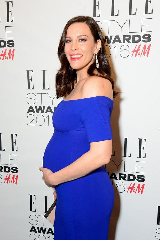 Liv Tyler na udílení Elle Style Awards v Londýně