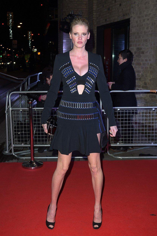 Mezi hosty byla i holandská modelingová star Lara Stone.