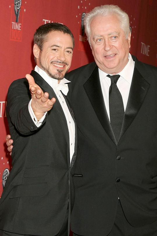 Na svého syna byl pyšný nejen za herecké výkony, ale i za to, že dokázal překonat všechny své závislosti.