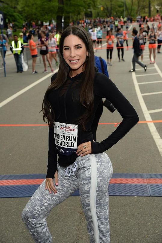 Jen Selter na půlmaratonu v New Yorku