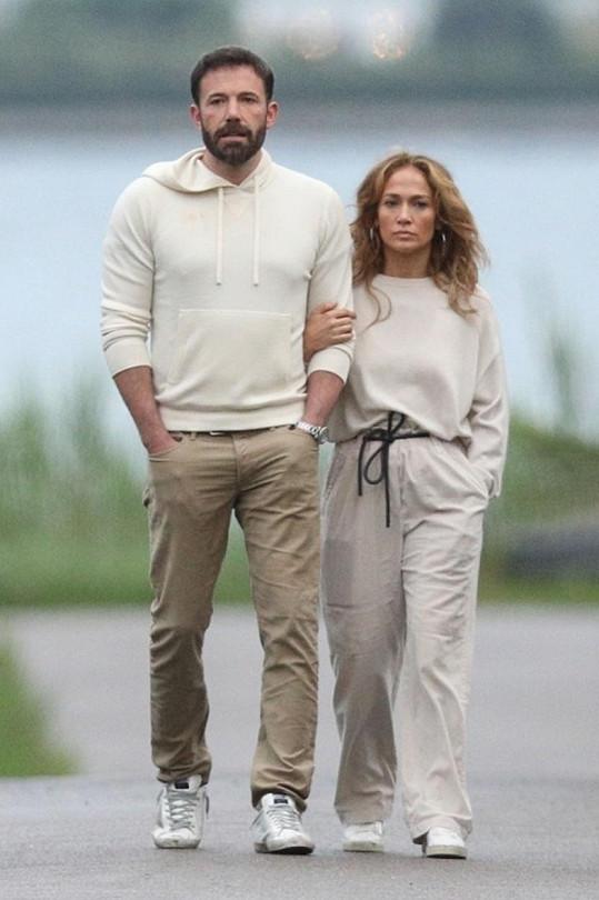 Jennifer Lopez a Ben Affleck vztah neskrývají.
