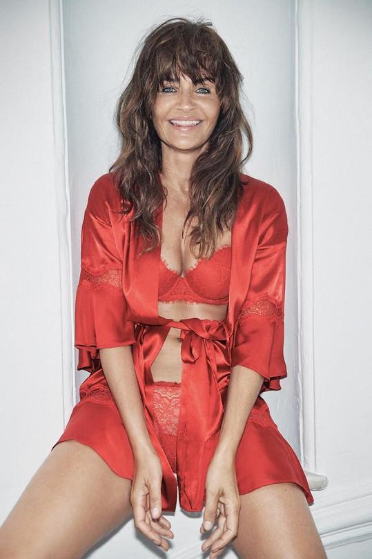 Takhle sexy je Helena v nejnovější kampani Victoria's Secret.