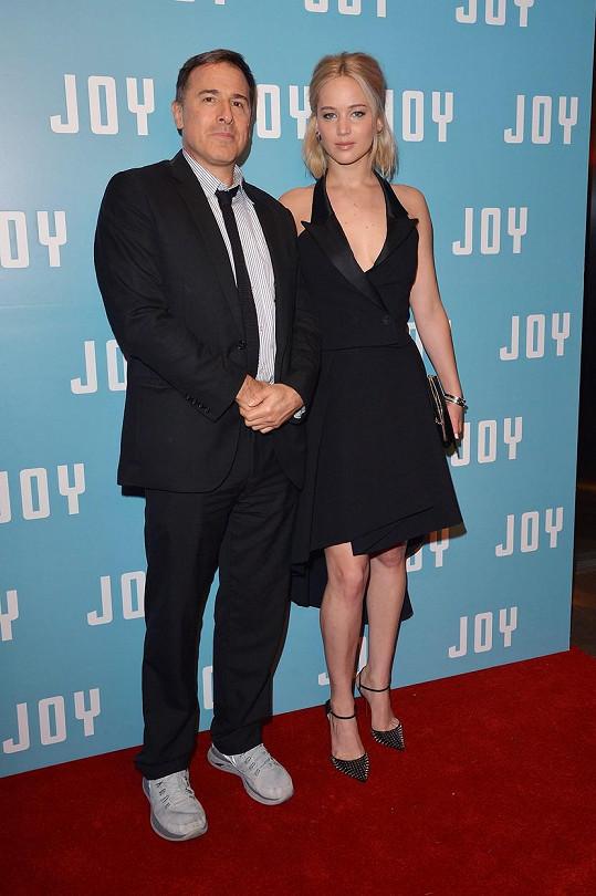 Jennifer Lawrence s režisérem Davidem O. Russellem