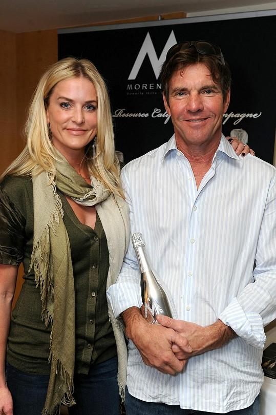 Dennis Quaid s manželkou Kimberly