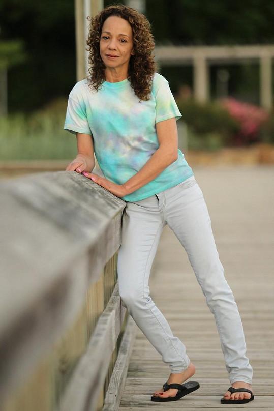 Alison Carey na snímcích z roku 2012