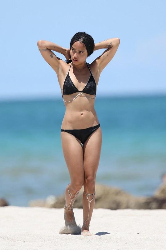 Na pláži ji určitě nepřehlédnete.