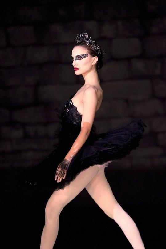 Ve filmu Černá labuť, za který dostala Oscara.