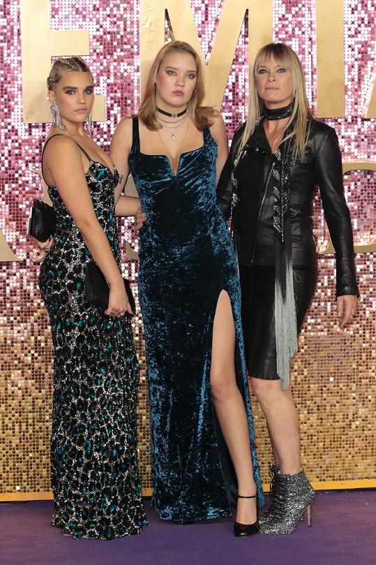 Taylorova expartnerka Deborah Leng s dcerami Tiger a Lolou