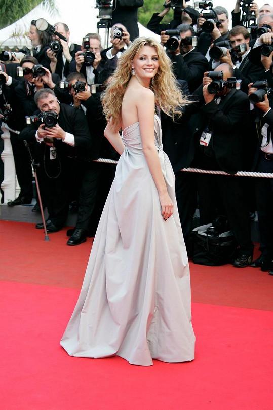 V dobách své největší slávy na filmovém festivalu v Cannes (2007)
