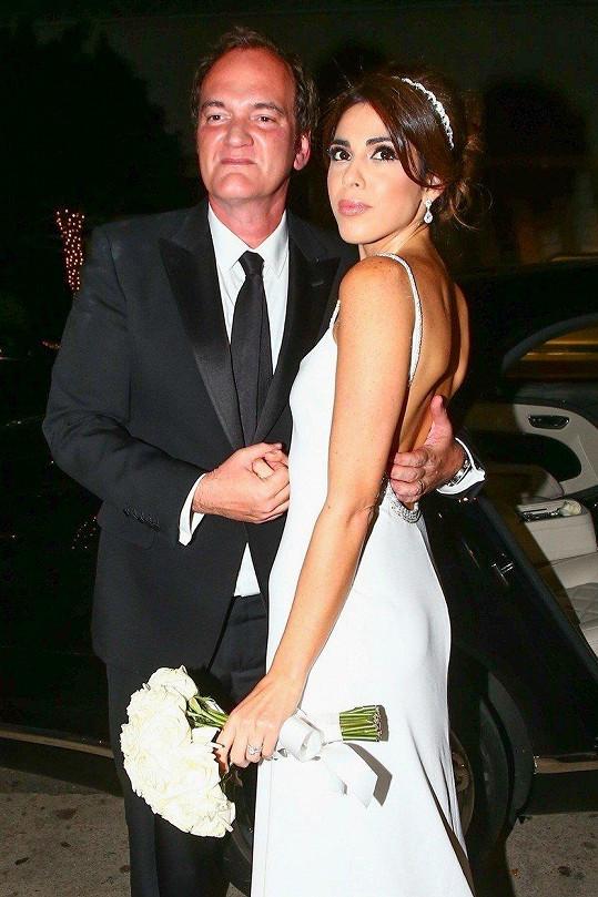 Režisér Quentin Tarantino si vzal izraelskou zpěvačku Daniellu Pick.