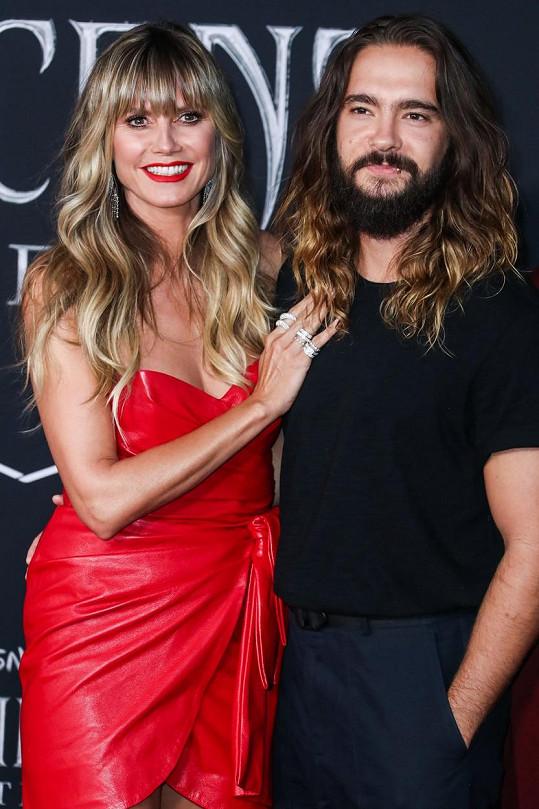 Za muzikanta Toma Kaulitze se Heidi Klum provdala letos v únoru.