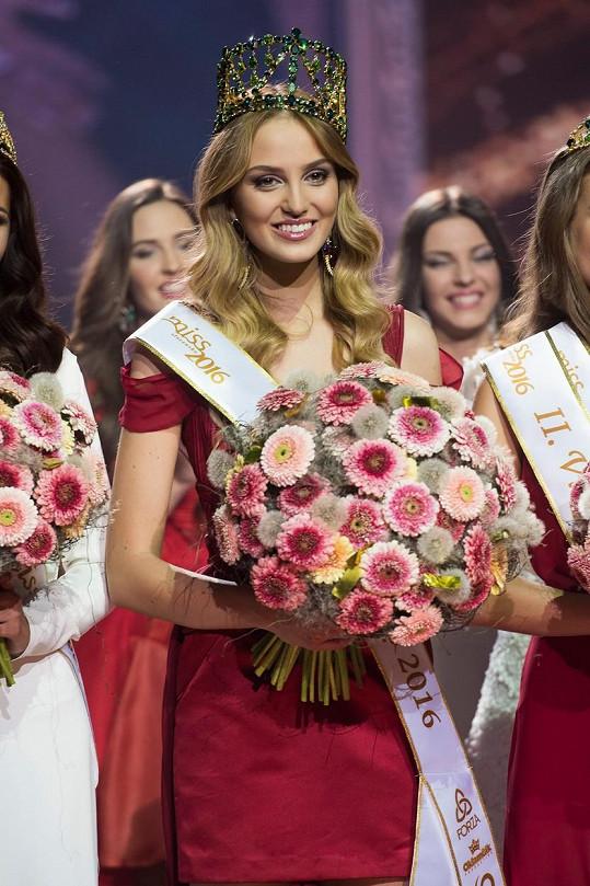 Novou Miss Slovensko je blondýnka Kristína Činčurová