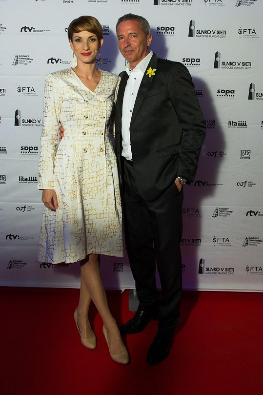 Zuzana Kanócz s Václavem Mikou