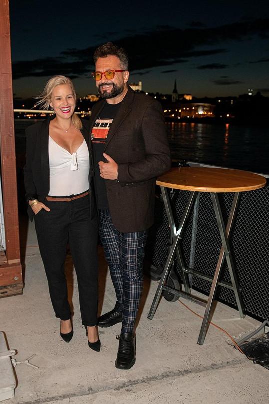 S kolegou ze SuperStar Marianem Čekovským