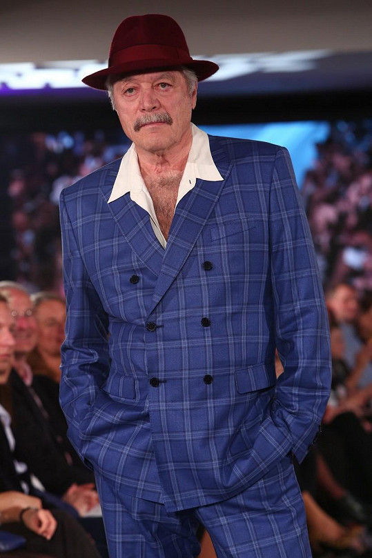 Juraj Kukura si vyzkoušel roli modela.