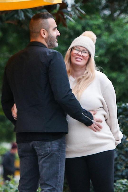 Jenna se snoubencem Liorem letos v lednu
