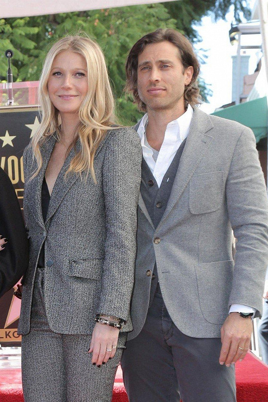 S manželem Bradem Falchukem