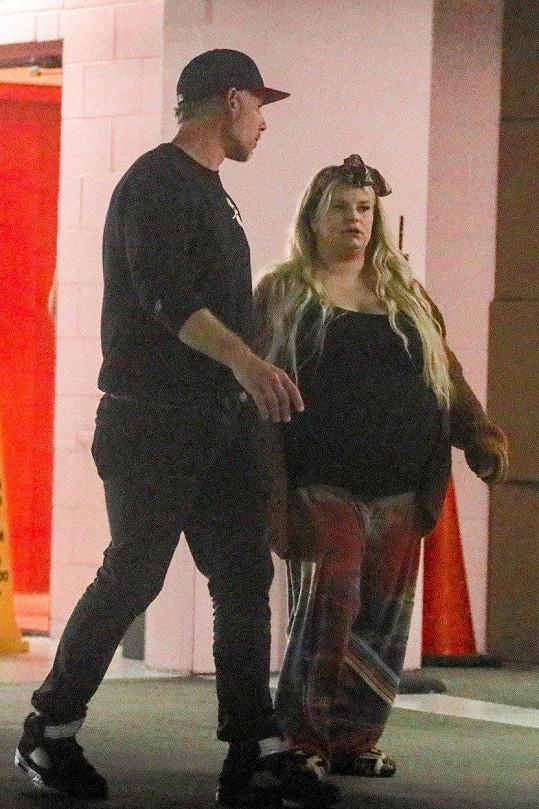 Jessica Simpson s manželem Ericem Johnsonem
