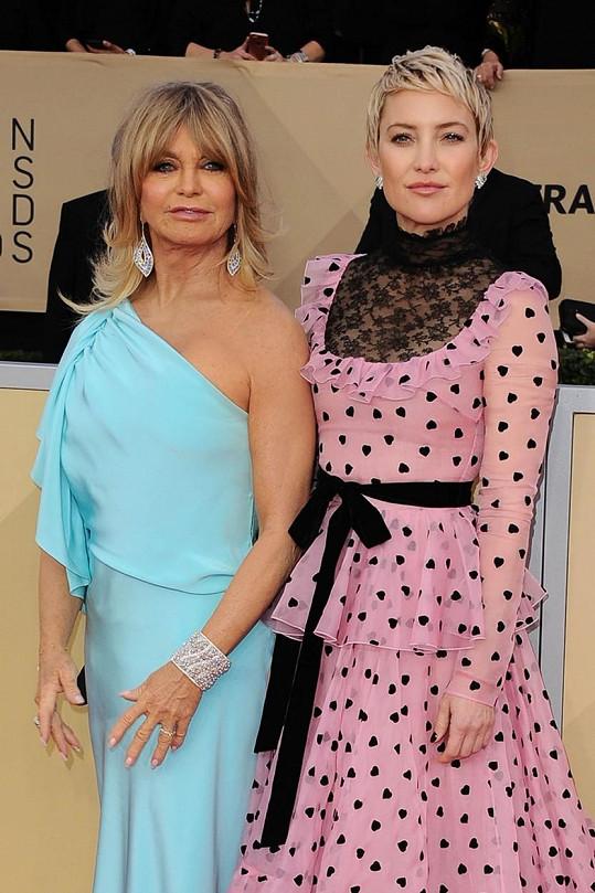S maminkou Goldie Hawn