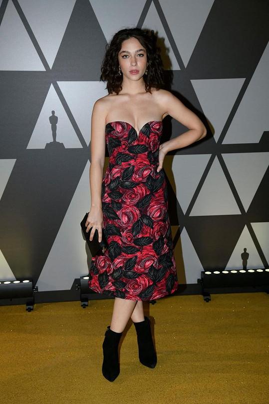 Herečka přiznala problémy s anorexií.