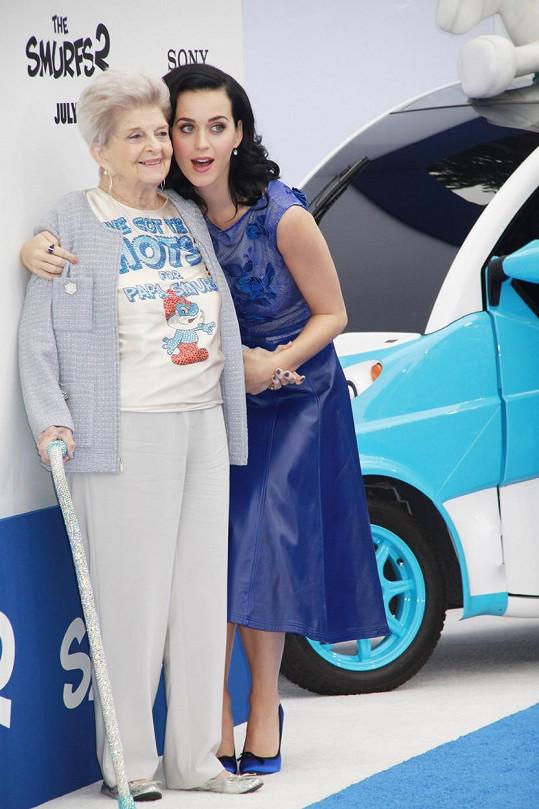 Katy s babičkou Ann Pearl Hudson