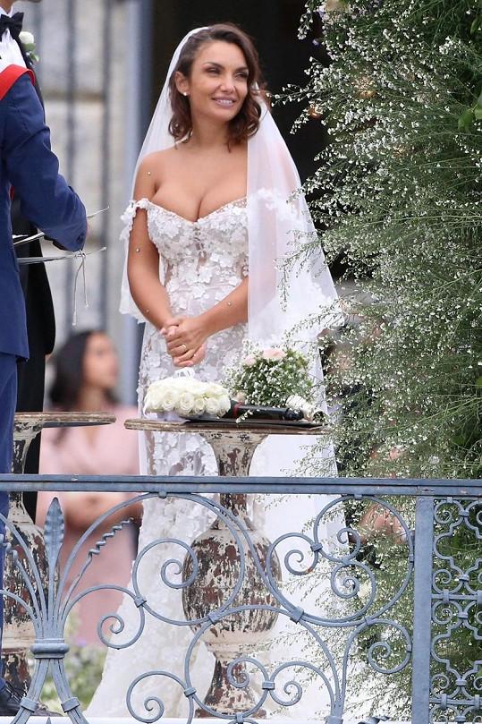 Zpěvačka a influencerka Elettra Lamborghini se minulou sobotu vdala.