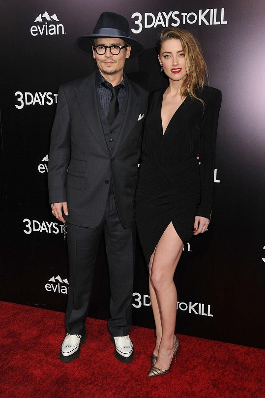 Herec se letos oženil s Amber Heard.