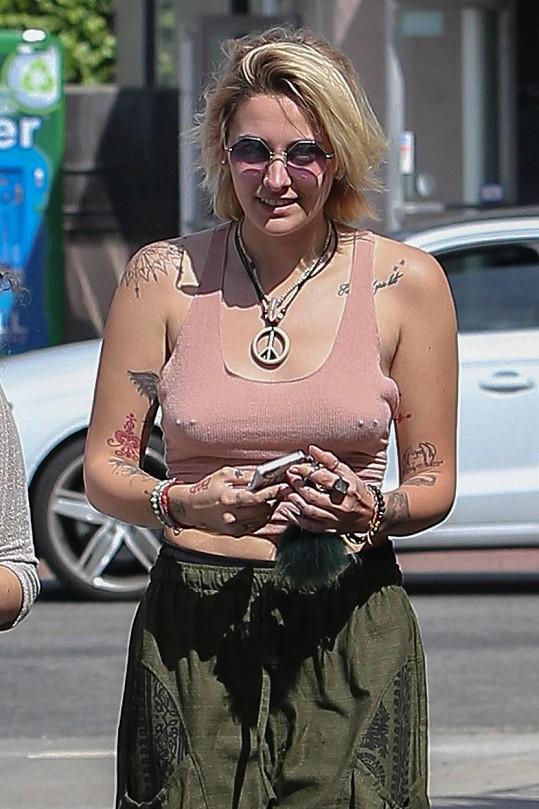 Paris Jackson v soukromí vyznává hippie styl.