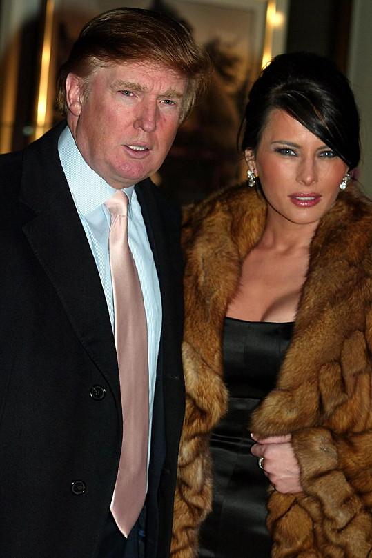Donald Trump s manželkou Melanií. Nový prezident má rozhodně dobrý vkus na ženy, a tak by si Frenchy nejspíš ani nevšiml.