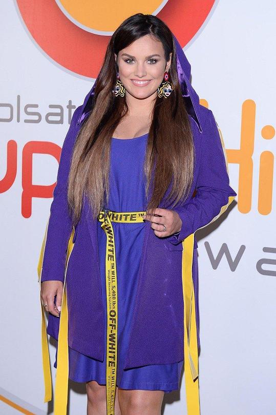 Ewa Farna vystoupila na polském festivalu v Sopotech.