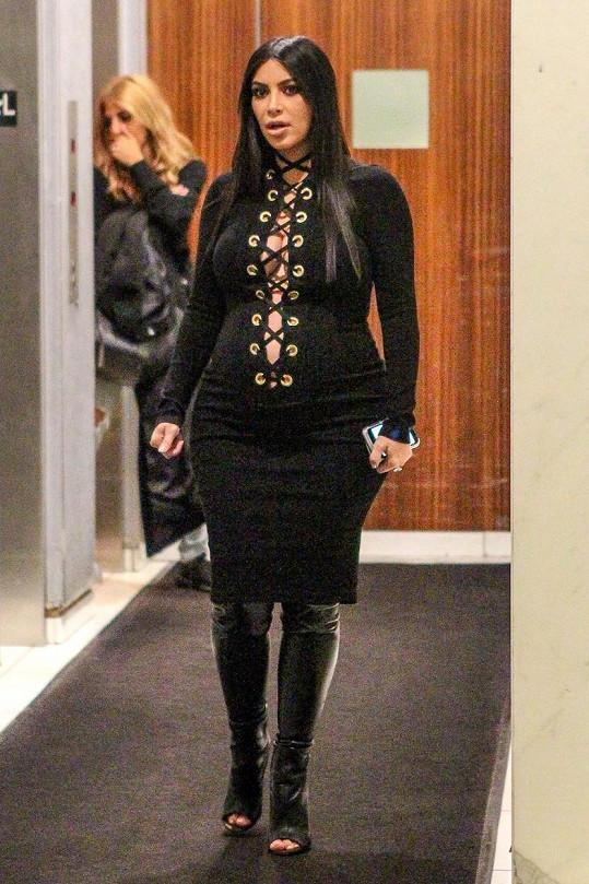 Kardashian jako kuželka