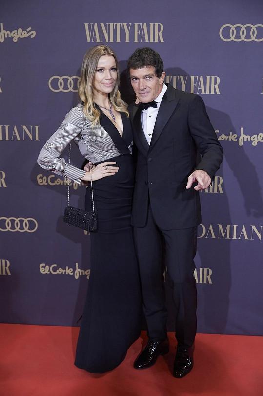 Herce doprovázela také přítelkyně Nicole Kimpel.