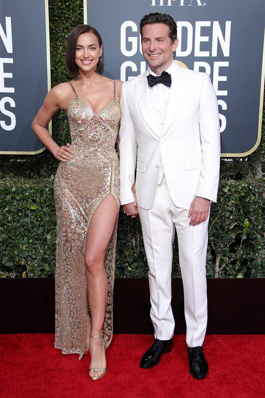 Irina Shayk má s bývalým přítelem Bradleym Cooperem skvělé vztahy.