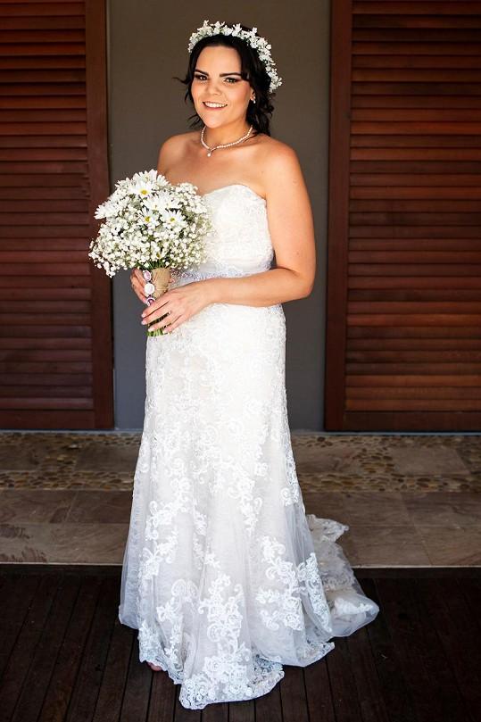 Do svatebních šatů zhubla 60 kil.