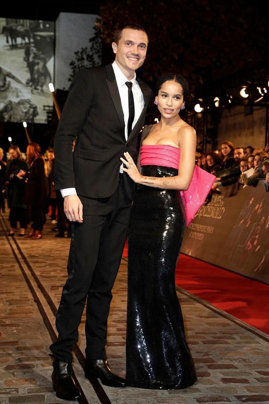 Kravitz se letos rozvedla s Karlem Glusmanem, svoji byli 18 měsíců.