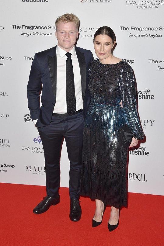 Jack Ramsay s tehdy ještě těhotnou mámou Tanou (listopad 2018)