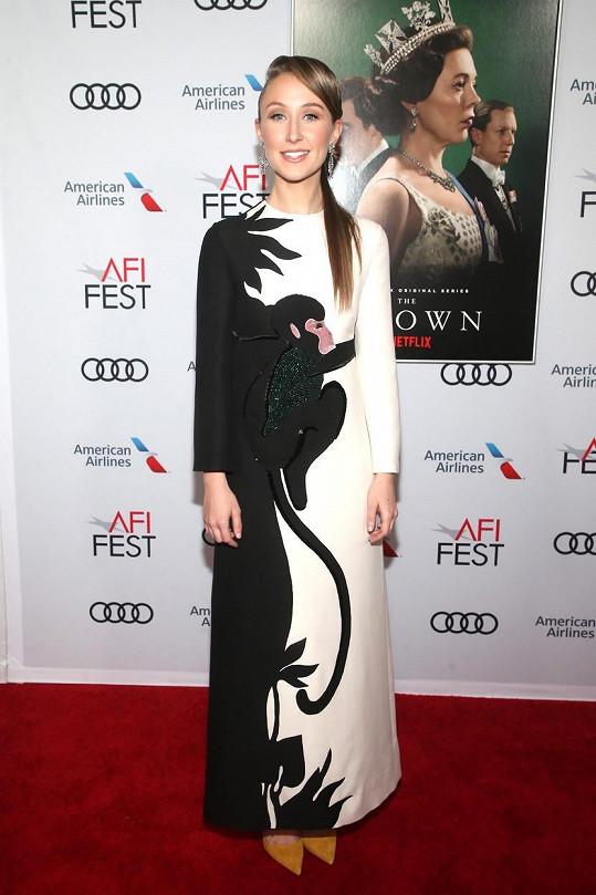 Herečka Erin Doherty