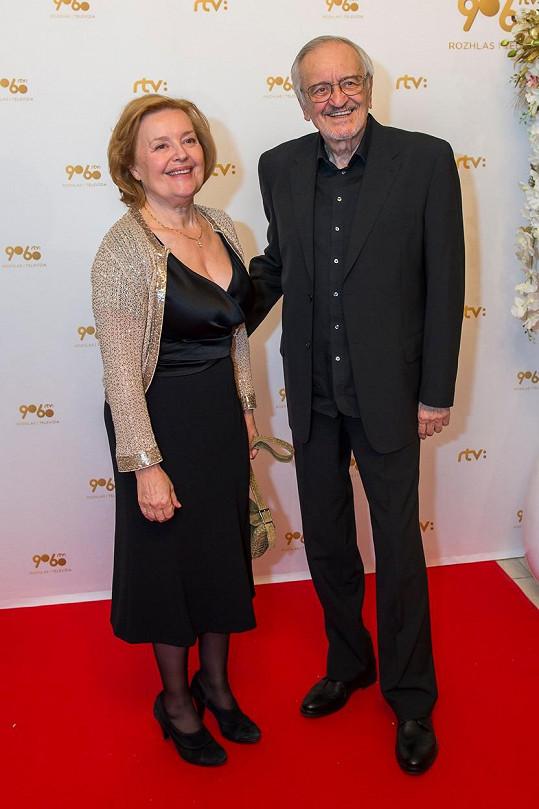 Magda Vášáryová s manželem Milanem Lasicou vychovali dvě dcery.
