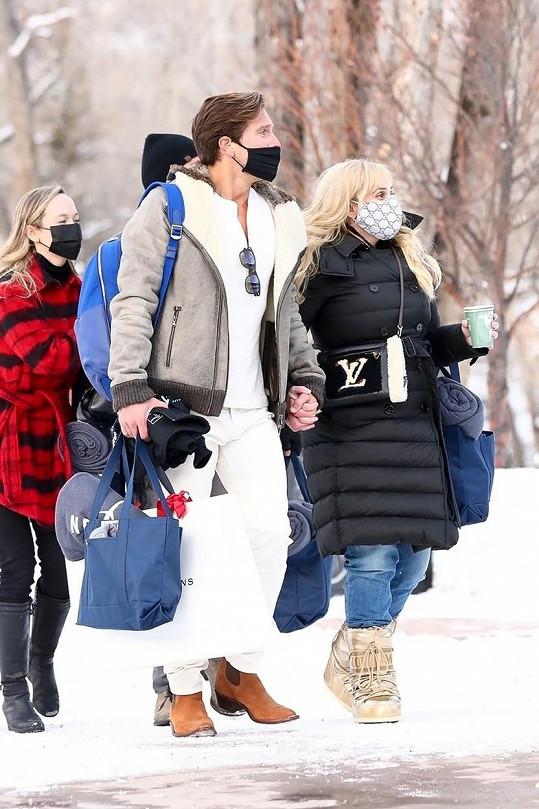 Ještě na Vánoce si společně užívali sníh v Coloradu.