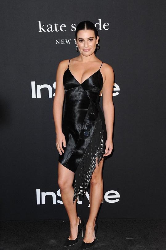 Lea Michele oznámila, že je těhotná.